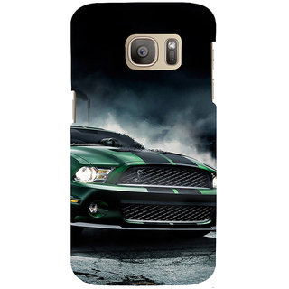 ifasho Royal  Running Car in wind Back Case Cover for Samsung Galaxy S7 Edge
