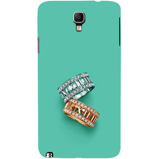 ifasho Engagement Ring Back Case Cover for Samsung Galaxy Note3 Neo