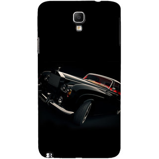 ifasho Vintage Car Back Case Cover for Samsung Galaxy Note3 Neo