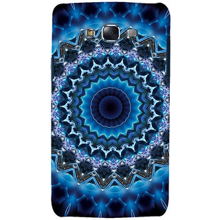 ifasho Animated Pattern design colorful flower in royal style Back Case Cover for Samsung Galaxy J7