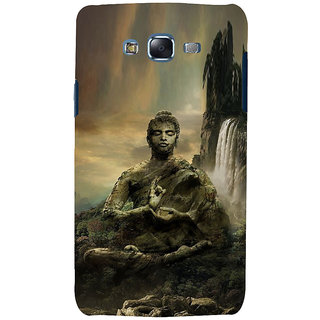 ifasho Lord Budha Back Case Cover for Samsung Galaxy J7 (2016)