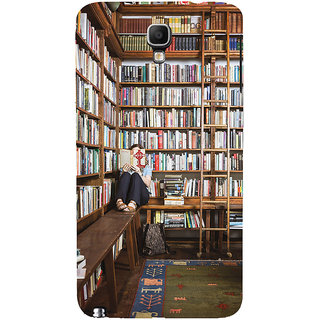 ifasho colrful design library pattern Back Case Cover for Samsung Galaxy Note3 Neo