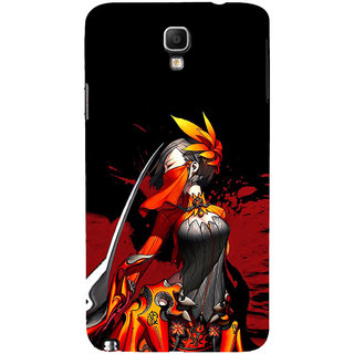 ifasho Colorful Girl animated Back Case Cover for Samsung Galaxy Note3 Neo