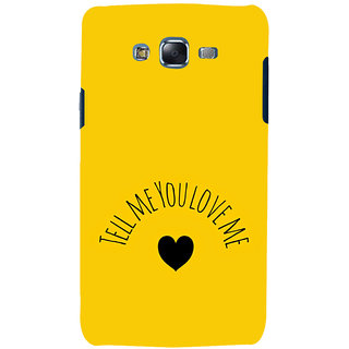 ifasho Love  Quotes  Back Case Cover for Samsung Galaxy J5