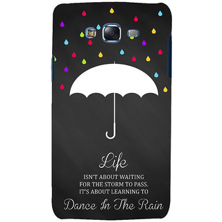 ifasho Good Quote on Rain Back Case Cover for Samsung Galaxy J7 (2016)