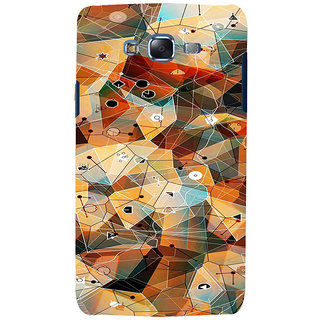 ifasho Modern Theme of royal design in colorful pattern Back Case Cover for Samsung Galaxy J5