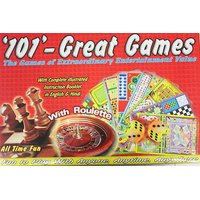 ORIGINAL 101 Great Board Family Games All In One