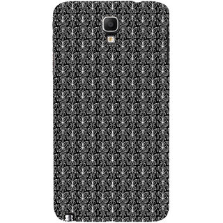 ifasho Animated Pattern black and white butterfly Back Case Cover for Samsung Galaxy Note3 Neo