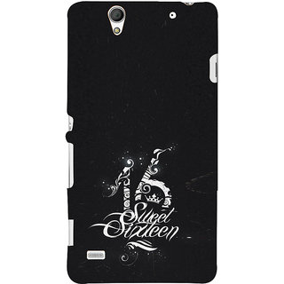 ifasho sweet sixteen quotes Back Case Cover for Sony Xperia C4