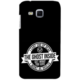 ifasho Think Out of Box Back Case Cover for Samsung Galaxy J3