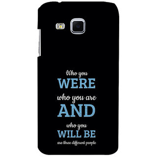 ifasho Philosophical Messge Back Case Cover for Samsung Galaxy J3