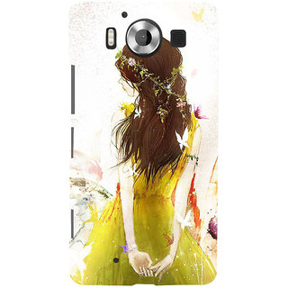 ifasho Princess painting Back Case Cover for Nokia Lumia 950