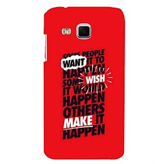 ifasho quote on inner Power Back Case Cover for Samsung Galaxy J3