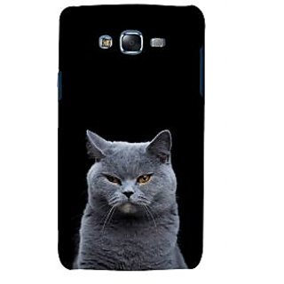 ifasho black Cat Back Case Cover for Samsung Galaxy J5