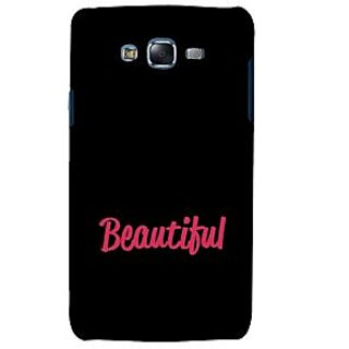 ifasho Bautiful word Back Case Cover for Samsung Galaxy J5