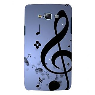 ifasho Modern Art Design Pattern Music symbol Back Case Cover for Samsung Galaxy J7