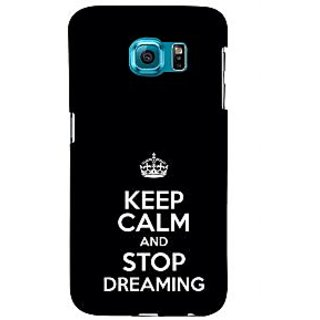 ifasho Nice Quote On Keep Calm Back Case Cover for Samsung Galaxy S6 Edge Plus
