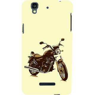 ifasho Royal Bike Back Case Cover for YU Yurekha