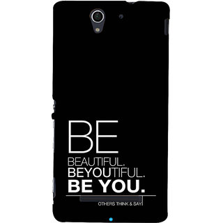 ifasho beautiful qoutes Back Case Cover for Sony Xperia C3 Dual