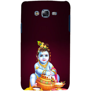 ifasho Lord Krishna stealing curd Back Case Cover for Samsung Galaxy J7 (2016)