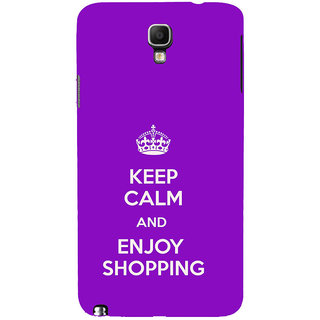 ifasho Nice Quote On Keep Calm Back Case Cover for Samsung Galaxy Note3 Neo