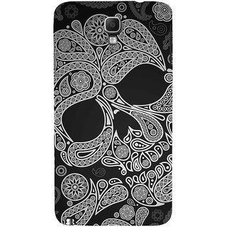 ifasho Modern  Design skeleton in royal Pattern Back Case Cover for Samsung Galaxy Note3 Neo