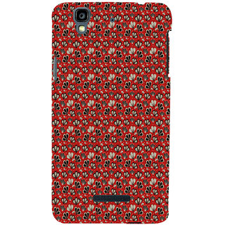 ifasho Modern Art Design animated cloth Pattern of flower Back Case Cover for YU Yurekha