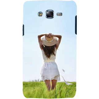 ifasho Girl waiting Back Case Cover for Samsung Galaxy J5