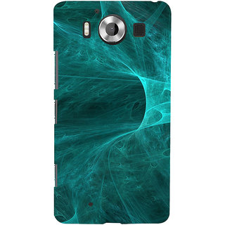 ifasho Design of smoke pattern Back Case Cover for Nokia Lumia 950