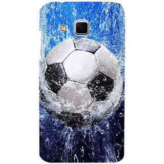 ifasho Foot ball Back Case Cover for Samsung Galaxy J3