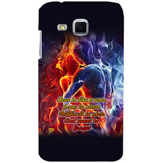 ifasho Love Quotes for love Back Case Cover for Samsung Galaxy J3