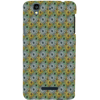 ifasho Animated Pattern design many small flowers  Back Case Cover for YU Yurekha
