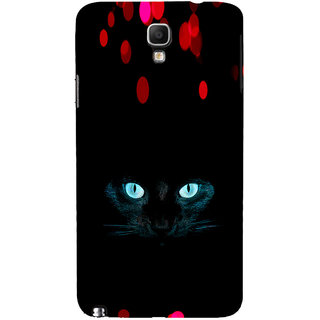 ifasho shining eyes of cat Back Case Cover for Samsung Galaxy Note3 Neo
