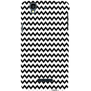 ifasho Animated Pattern of Chevron Arrows royal style Back Case Cover for YU Yurekha