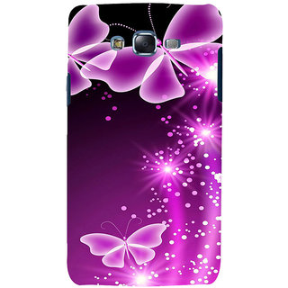 ifasho Butterfly Back Case Cover for Samsung Galaxy J5