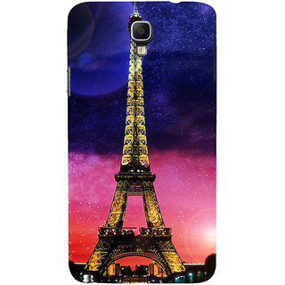 ifasho Effile Tower Back Case Cover for Samsung Galaxy Note3 Neo