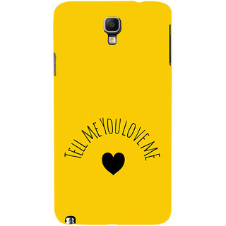 ifasho Love  Quotes  Back Case Cover for Samsung Galaxy Note3 Neo