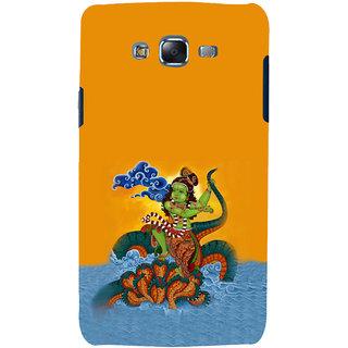 ifasho krishna Dancing on kalia serpant Back Case Cover for Samsung Galaxy J7