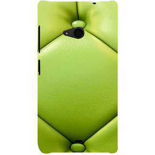 ifasho leather pattern sofa style Back Case Cover for Nokia Lumia 535