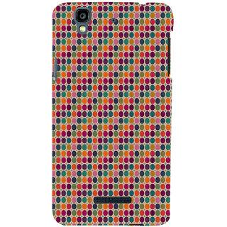ifasho Animated Pattern  littel and Big colourful Circle Back Case Cover for YU Yurekha