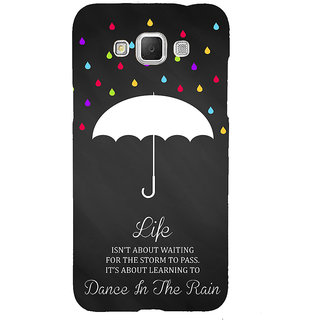 ifasho Good Quote on Rain Back Case Cover for Samsung Galaxy Grand Max