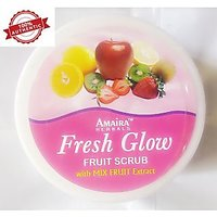 Herbal Plus Natural Fruits Skin Whitening Face And Body Scrub