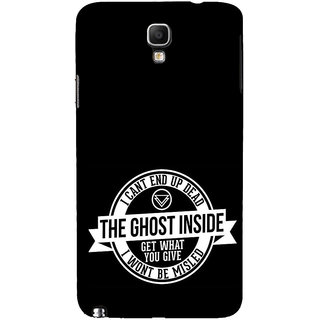 ifasho Think Out of Box Back Case Cover for Samsung Galaxy Note3 Neo