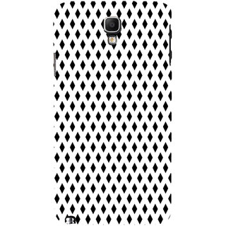 ifasho chevron style and Checks In black and white Pattern Back Case Cover for Samsung Galaxy Note3 Neo