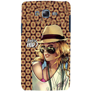 ifasho Look at me Girl Back Case Cover for Samsung Galaxy J5