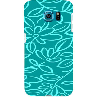 ifasho Animated Pattern colrful 3Daditional design cloth pattern Back Case Cover for Samsung Galaxy S6 Edge Plus