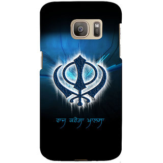 ifasho Sikh symbol Back Case Cover for Samsung Galaxy S7 Edge