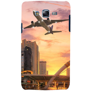 ifasho aeroPlane flying in city Back Case Cover for Samsung Galaxy J7 (2016)