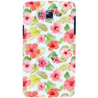 ifasho Animated Pattern mander flower with leaves Back Case Cover for Samsung Galaxy J5