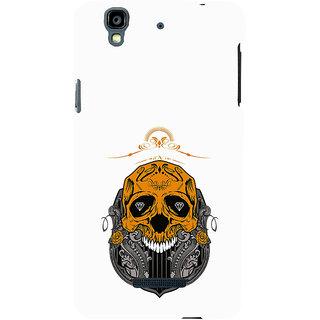 ifasho Modern  Design animated skeleton Back Case Cover for YU Yurekha